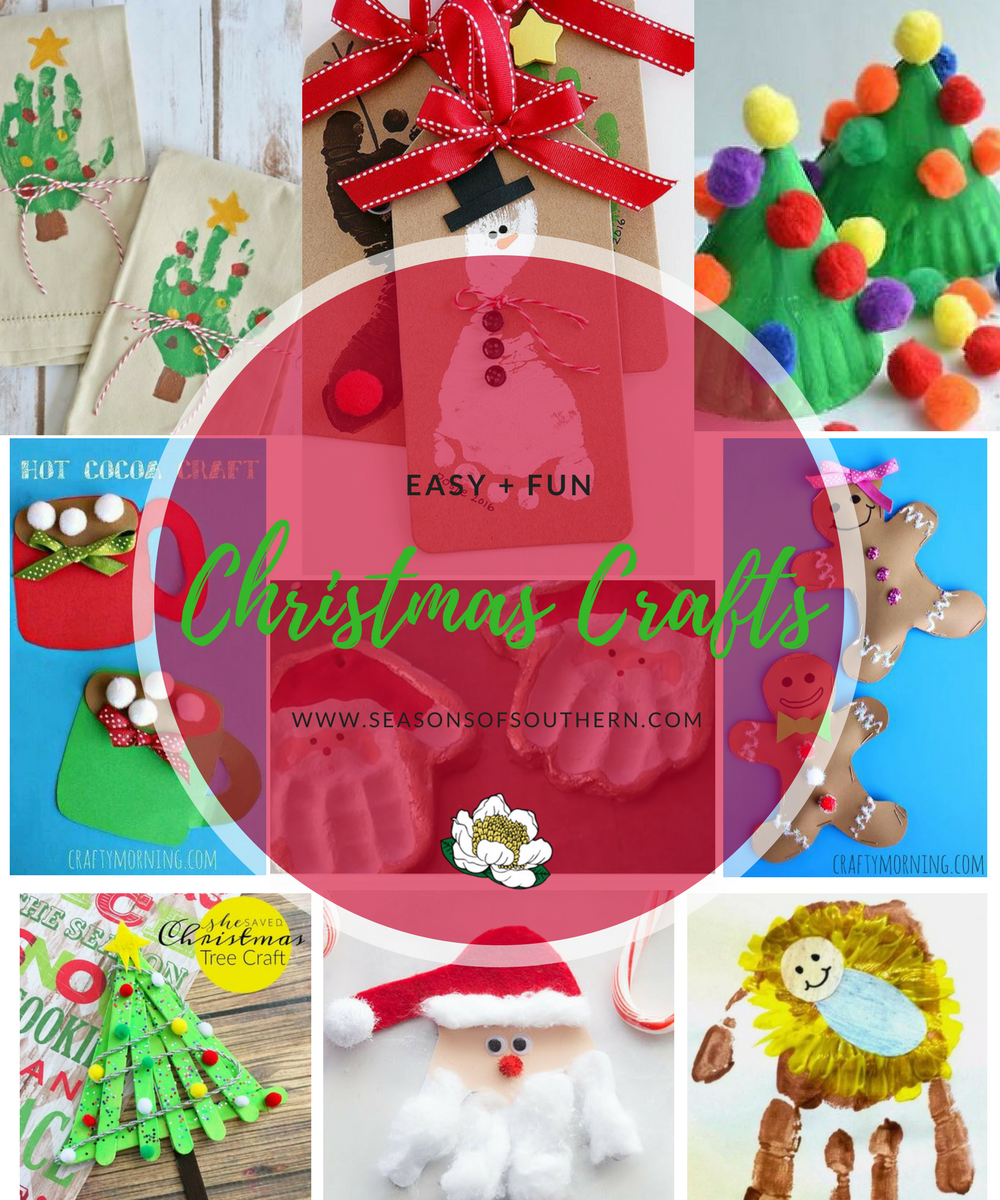 Easy Fun Christmas Crafts Now That The Kids Are Out Of School They Probably Already Bored From Staying Inside On These Cold Rainy Dreary Days