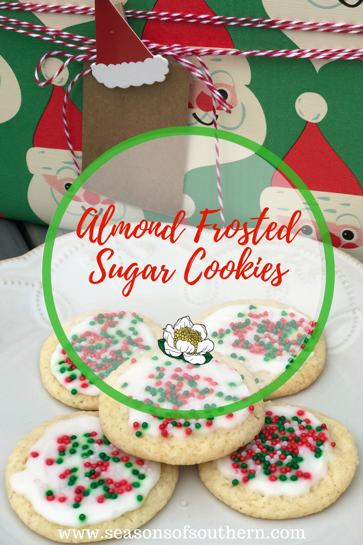 12 Days Of Christmas Cookies No 9 Almond Frosted Sugar Cookies