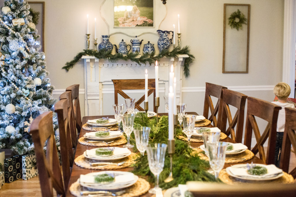 Christmas Home Decor.Christmas Home Decor Winter Tablescape Seasons Of Southern